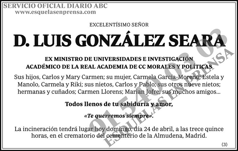 Luis González Seara